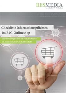 Checkliste elektronischer Geschäftsverkehr