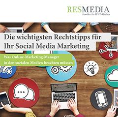 Social Media Recht Für Online Marketing Manager