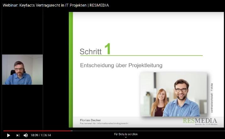 Vertragsrecht In IT-Projekten