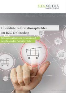 Checkliste Informtionspflichten Fernabsatz