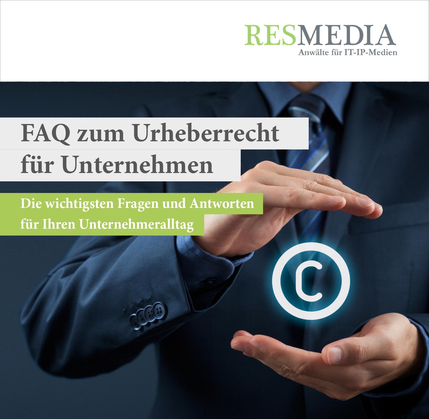 Booklet E-Book Urheberrecht