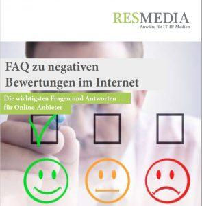FAQ negative Bewertungen