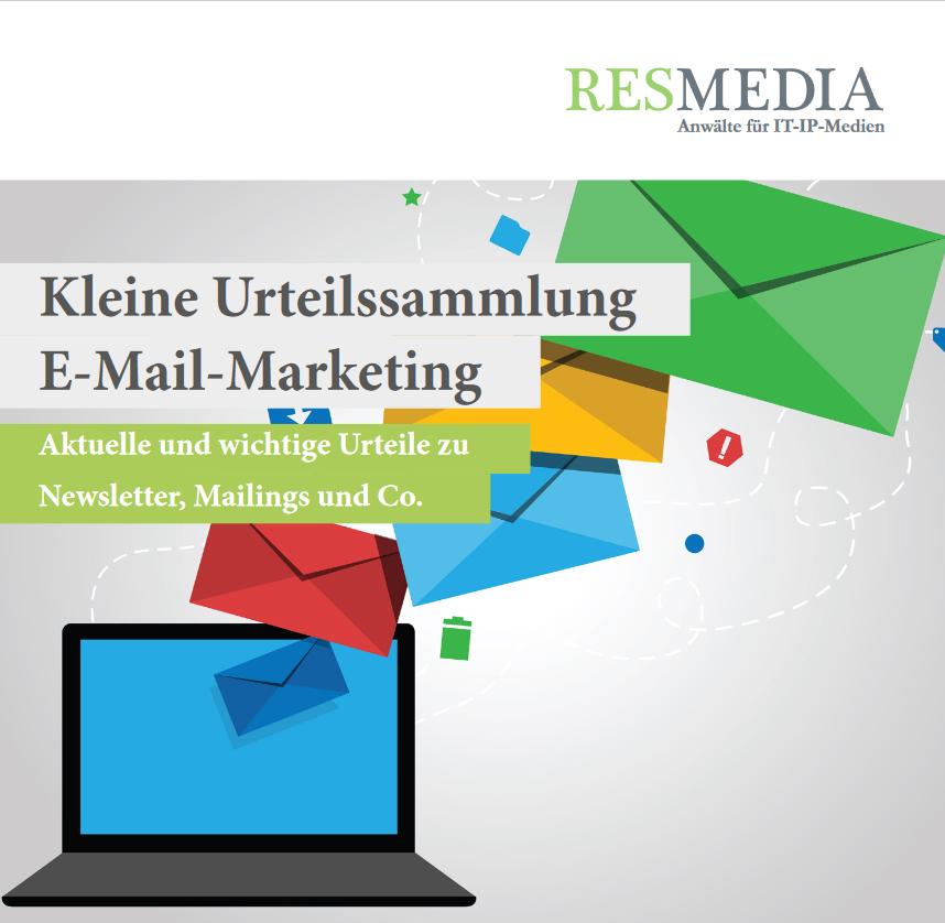 Urteile E-Mail marketing